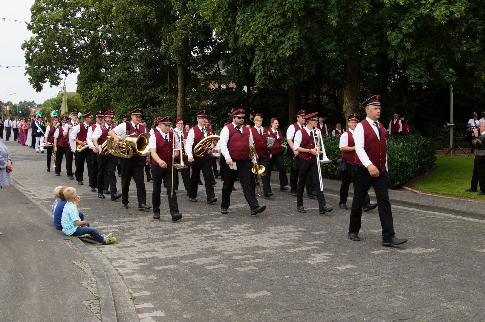 Hochmoor Schützenfest marschieren