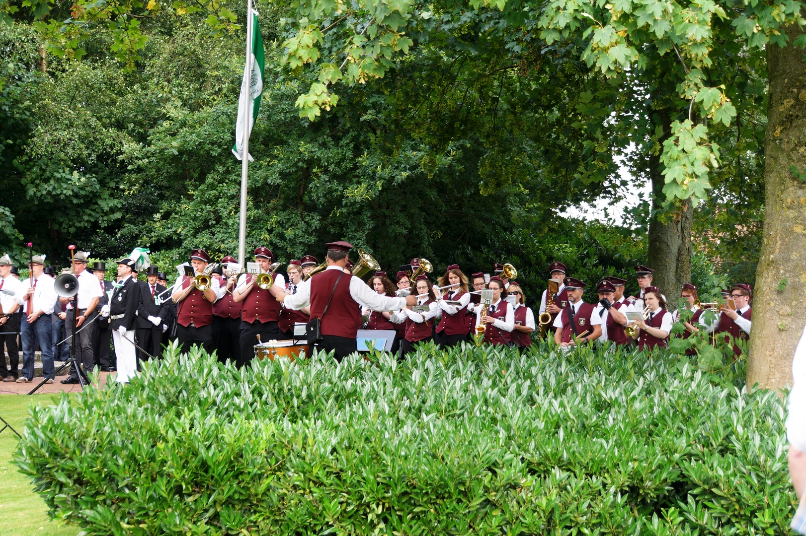 Hochmoor Schützenfest Zapfenstreich 1