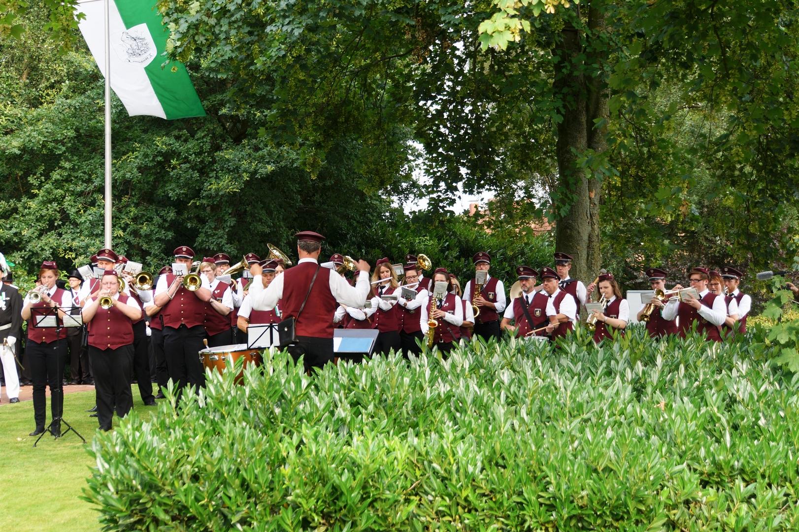 Hochmoor Schützenfest Zapfenstreich 3