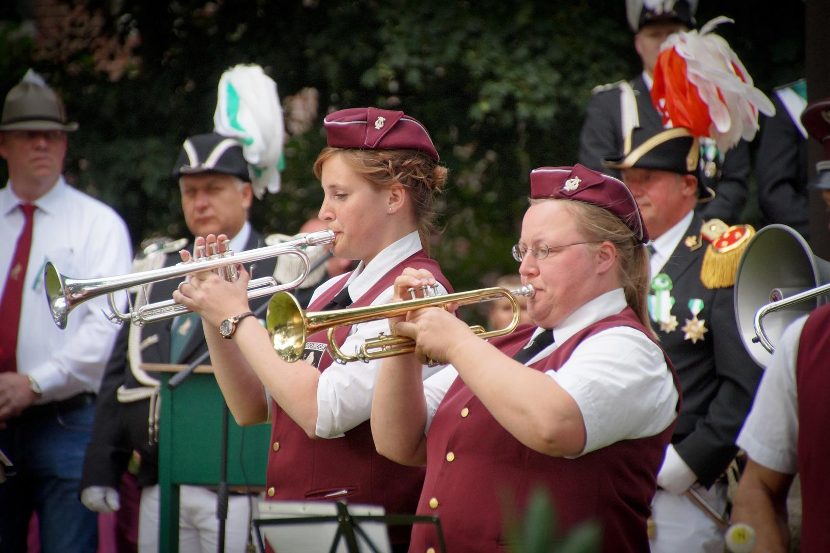 Hochmoor Schützenfest Zapfenstreich Trompete