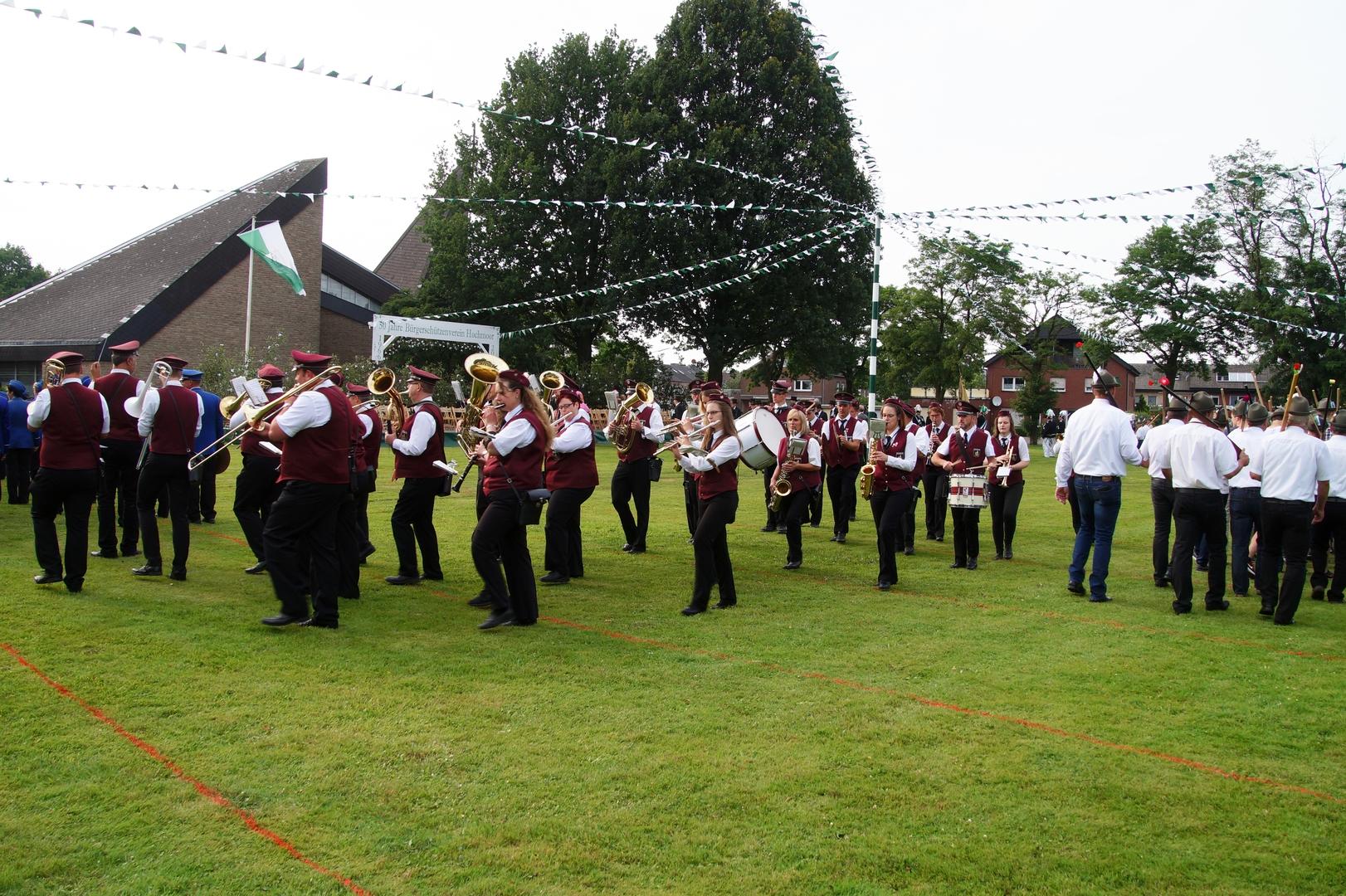 Hochmoor Schützenfest Jubiläum 1